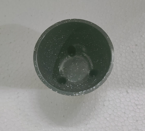 Alliete Grey Circular Ceramic Plant Bowl