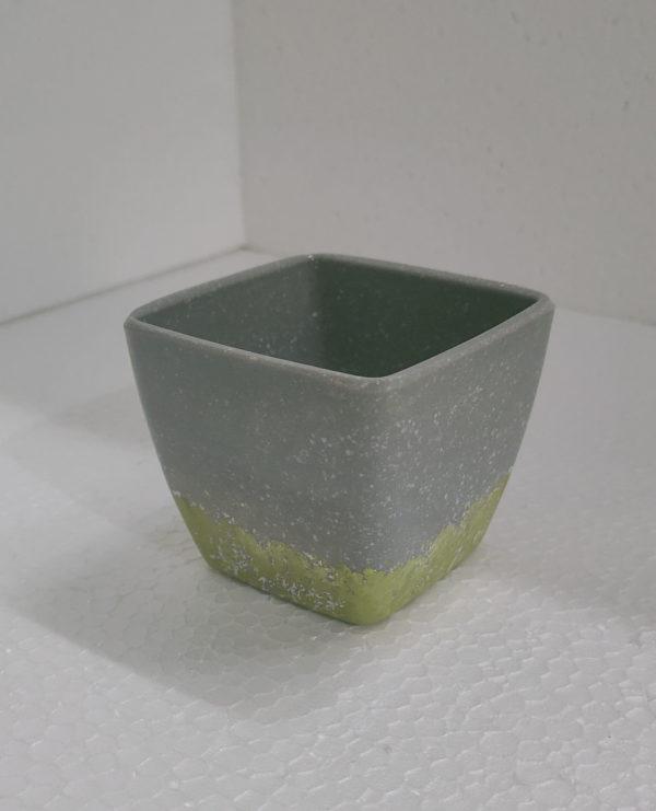 Opiem Square Ceramic Planter